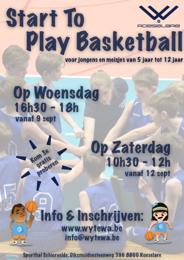 Flyer Basketschool
